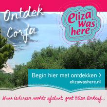 Naar Corfu op vakantie met Eliza was here