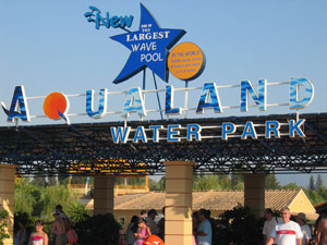 Corfu Aqualand een populaire excursie