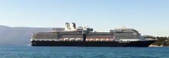 Corfu cruise en cruiseschepen in Kerkyra